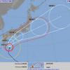 強い台風14号週末に本州直撃!関東への影響は!週末の天気豪雨に警戒!