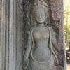 アンコールワット個人ツアー(45)バイヨン様式の女神とアンコール トムツアー