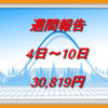 資産運用|週間報告(4日~10日)プラス30,819円でした