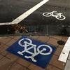 自転車サイン収集家