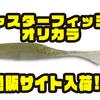 【ゲットネット】シャッド型ソフトベイトのオリカラ「ジャスターフィッシュ中央漁具オリジナルカラー」通販サイト入荷!