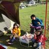 家族キャンプDay2 まったり遊び