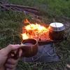 友達に勝手に布教シリーズ1「焚き火台」は小さいのと大きいのがあると良い!