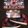 NIKE AIR JORDAN 1 BLACK/RED 94s