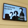 2019/06/28 『GRAPEVINE tour2019』 at Zepp DiverCity 感想