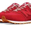 New Balance 574 RED New Balance KL574NJG 海外限定 ニューバランス 574 レッド 男 Mens メンズ 正規品 ランニング靴