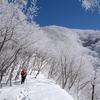 「赤」城の山を「白」に染める満開の霧氷 @赤城山(黒檜山・駒ヶ岳)