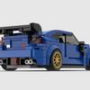 【レゴ自作動画】WRX STIを作る