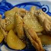 よく使う調味料と大根と手羽中の煮物