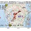 2017年09月22日 10時33分 熊本県熊本地方でM3.2の地震