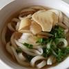 春を感じさせる筍入りしっぽく @谷川製麺所