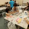 ★夏休み親子体験★「新聞でつくる工作教室」開催しました!