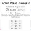日本代表男子、アジアカップの8/8(火)オーストラリア戦は16点差で敗戦。