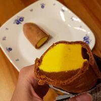 焼き芋アイスレビュー︰丸永製菓「安納芋もなか」(ローソン限定)