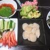 海鮮丼、味噌汁