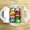 牛乳パックで作る簡単ケーキ箱の作り方〈バレンタインやお店やさんごっこでも使える工作遊び〉
