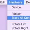 iOS シミュレーター上でだけアプリが動かない!そんな時....
