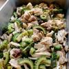 鶏肉とゴーヤの中華煮込み