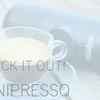 ミニプレッソ+バニラアイスで手作りアフォガードを楽しもう!