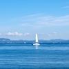 久しぶりの三浦半島は、青の世界。