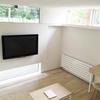 注文住宅のテレビの収め。壁掛けテレビ編。