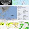 【台風情報】日本の南東には熱帯低気圧(97W)が存在!気象庁の予想では22日18時には台風の卵が台風26号となる見込み!10月下旬に関東の東を通過か!?気象庁・米軍・ヨーロッパ・NOAAの進路予想は?