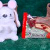 【チョコ好きのためのブラウニーサンドアイス】ファミリーマート 1月21日(火)新発売、コンビニ アイス 食べてみた!【感想】
