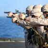 米海兵隊 大使館の警備体制強化