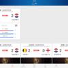 NHKのワールドカップアプリ