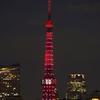 ほぼライブ - 東京タワー KANREKI RED ライトアップ