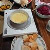 チーズフォンデュとチョコフォンデュ