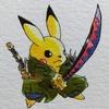 ゾロ×イケメンピカ様 Zoro × cool pikachu