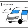 愛車ミミコさん【4コマ漫画】