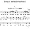 インドネシア語勉強歌1