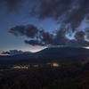 【M32】九蔵峠展望台から「紅葉と御嶽山と天の川」を組み合わせて撮る
