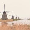 ちびなroccoのちびっと旅5 -水上バス(Waterbus)に乗って、キンデルダイクの風車を見に行こう!ー