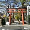 新宿神楽坂の赤城神社、毘沙門天、そして外神田の猫カフェへ、、、 2017.4.13