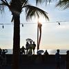 フィリピン2 マニラ湾の夕日