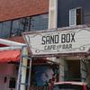 沖縄 センス良すぎなハンバーガー店「Sandbox Burgers] 海外の人ばっかり?!