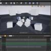UE4 シーケンサー上の物理演算をアニメーションベイクする
