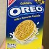 モンデリーズ・ジャパン オレオ(OREO) ゴールデンオレオバニラクリーム  食べてみました