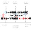 【一級整備士試験対策】学科試験ハイブリット 覚えるべき共線図5パターン解説