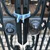 自宅介護DIY.徘徊対策.門を外側からロック