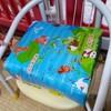 豆椅子の座面を上げるクッション自作しました!