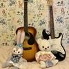 部屋と縫いぐるみとギター