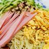 7月16日(月)連日の猛暑日と、冷やし中華と白菜漬け。