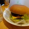 コメダ珈琲店のハンバーガー