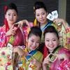 【よさこい】本祭1日目の朝の踊り子さん支度の記録です