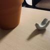 オブジェにもなる白山陶器の箸置き