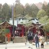パワースポット箱根神社初詣と芦ノ湖「湖水開き」で神主さまの水上スキーを見る
